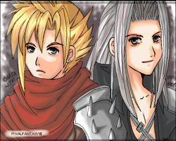 FFVII and some l337 by shufu