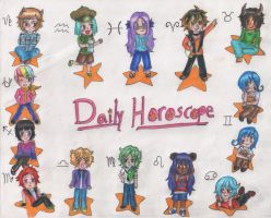 Daily Horoscope by Tin-foiL