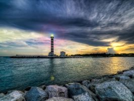 Jesolo Lighthouse by rschoeller