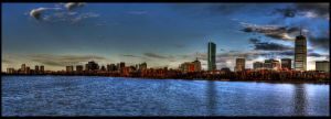 Boston Panorama by bozonio