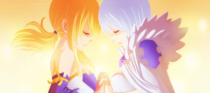 Lucy and Yukino (Chappter 328) by AkilaChione