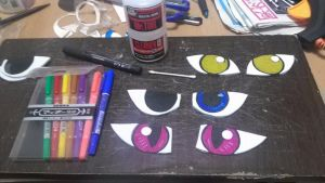 Eyes Testing by Dingz