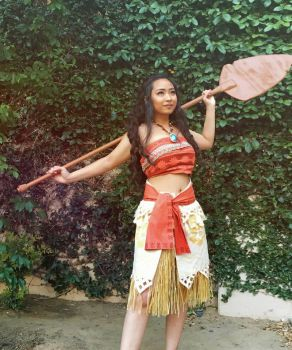 Moana at Titan Con by Eri-nyan