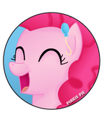 Pinkie Pie Pin by BrittanysDesigns