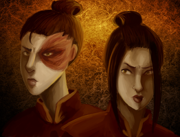 Avatar: our hearts get torn up by schellibie