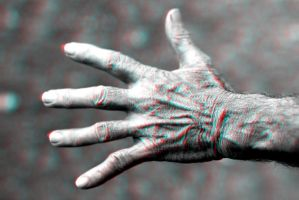 Old Hand 3-D conversion by MVRamsey