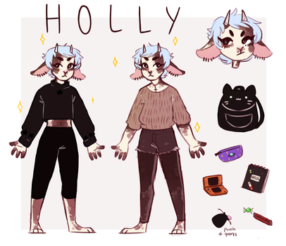 Holly Adopt || Closed by HomiCiderJuice