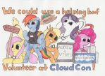 CloudCon Wants You... Again! by EnigmaticThief
