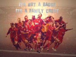 Liverpool Fc Not Just A Badge by domthepom