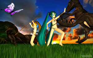 MMD The Land Before Time by Trackdancer