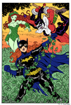 Batgirl vs PoisonIvy Harley by Dogsupreme by SickSean