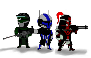 Mandalorian Brothers by mando-christian