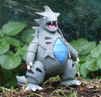 Tyranitar pokemon model by ApricotProductions