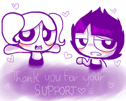 Thanks,people. by meimeix