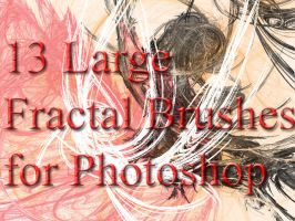 13 Large Fractal Brushes by AveEnd