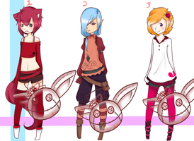 .: Cutie Boys Adopts :. :CLOSED: by Rose-Adopts