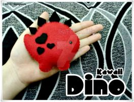Black n Red Dino by SongAhIn