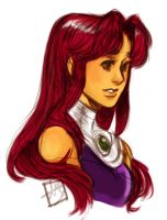 Starfire by Chopstickgal