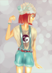 Clothes drawing training: Cheerful Petra by McFearless1810