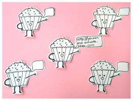 Cupcake Stickers by chat-noir