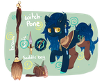 ADOPT: Witch Pone CLOSED by Ruef-Bae