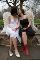 Lesbian Angels stock 46 by Random-Acts-Stock