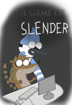 A Game of Slender (Comic Title Page) by SketchedJDII