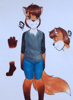 smol fox adopt [CLOSED] by MODSISAWESOME123