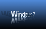 3D Blue Windows 7 Wallpaper by enul01