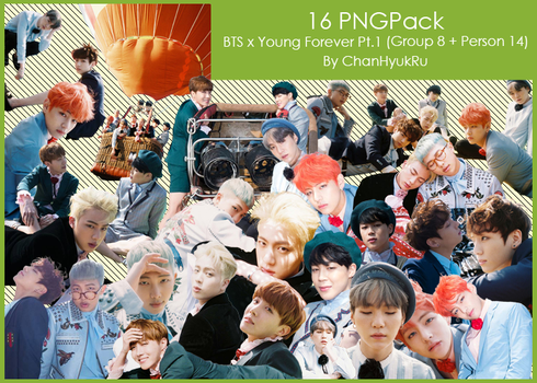 16 / BTS x Young Forever Pt.1 PNGPack by ChanHyukRu