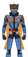 Kamen Rider Nazca by heavenlymythicranger