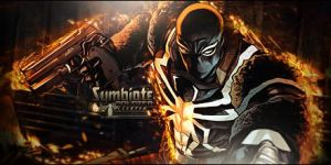 Symbiote Soldier Tag by LexterGFX