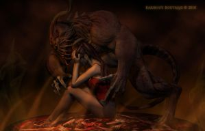 The Beast I Have Within Me by karibous-boutique