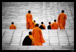 ChongSheng Monks by lukaszkruk