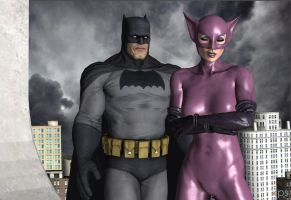 TDK(R):  The Bat and The Cat, Part 2 by CharlesWS
