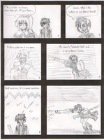 Daiki Draft One Page Two by WestytheTraveler