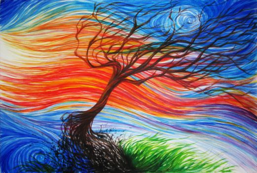 The Energy of the Wind by giorjoe
