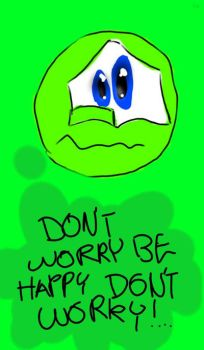 green: don't worry ... by mara2006