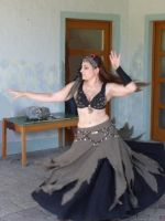 Bellydance Dress Tribal by HEXEnART