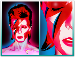 Bowie by Monzer