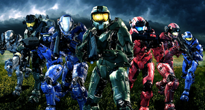 SPARTAN Team 117 by LordHayabusa357
