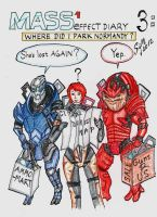 Mass Effect 1 Diary: 3 Directionally challenged by sleepyhamsteri