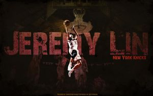 Jeremy Lin Wallpaper A by JamesChen