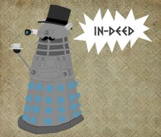 Gentleman Dalek by whosname