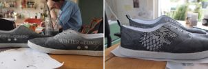 Game of Thrones shoes by RonjaKnippers
