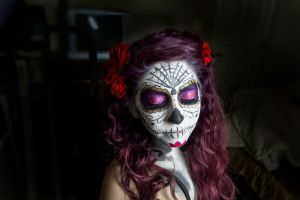Sugar Skull 02 by Biselva
