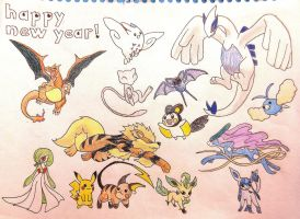 HAPPY (late) NEW YEAR! by Dragonography