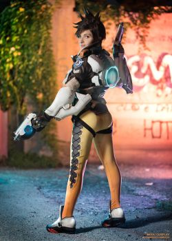 Tracer Dejavu by MoguCosplay