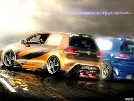 Volkswagen Golf StreetRacer GT by Faik05