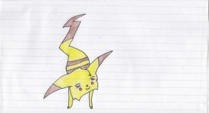 Pikachu by bloodfeather9875